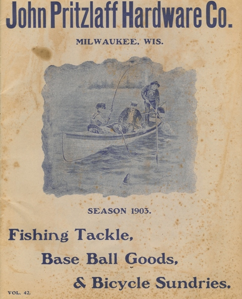 1903  John Pritzlaff Fishing Lure Catalog