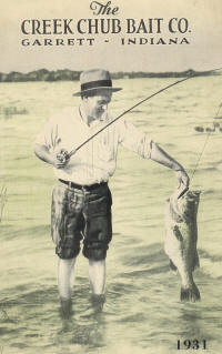 1931 Creek Chub Fishing Lure Catalog