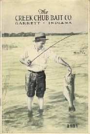 Cover of Creek Chub Lure Company 1931 Catalog