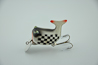 Heddon Dowagiac Indy Checkered Flag Hi Tail