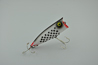 Heddon Dowagiac Indy Checkered Flag Chugger Spook Lure