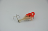 Heddon Dowagiac Top Sonic Lure Red and White